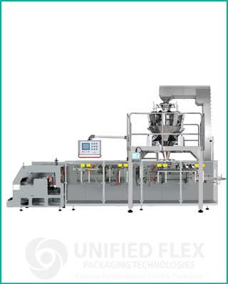 High Speed Performed pouch bagging machine with multihead combination scale