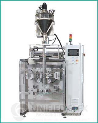 High Speed vertical form fill seal packaging machine with volumetric auger filler