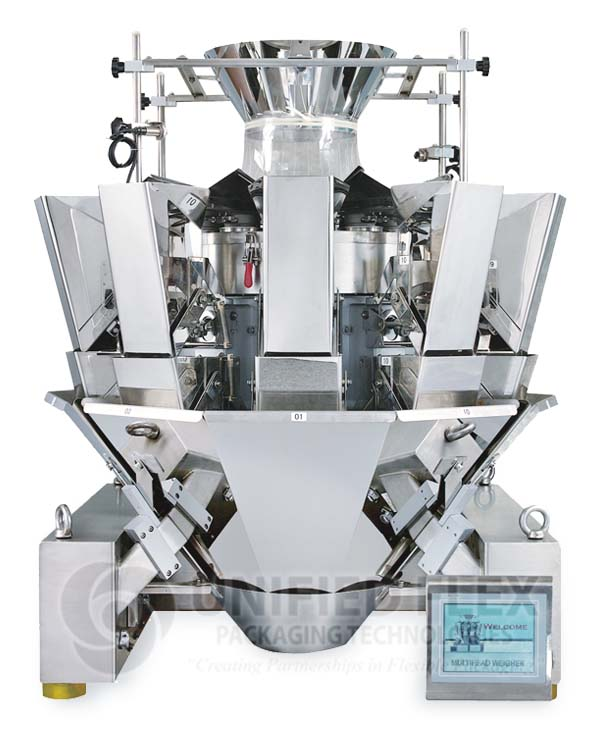 ORION 10 HEAD Combination Scale For A Vertical Form Fill Seal Packaging Machine