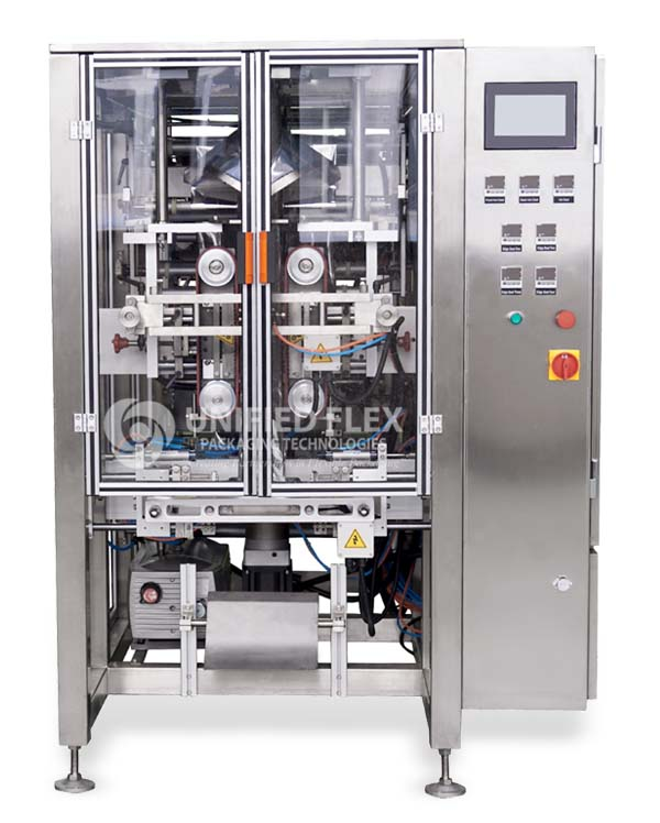 Quad Seal Vertical Form Fill Seal Packaging Machine