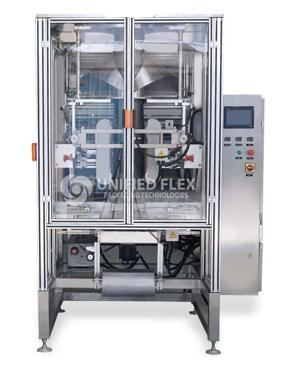 Vacuum Pouch Vertical Form Fill Seal Packaging Machine