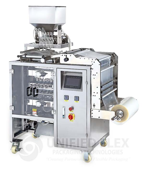 Multilane Sachet Vertical Form Fill Seal Packaging Machine