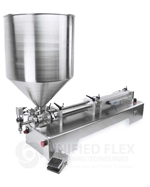 Volumetric Piston Filler For Liquids