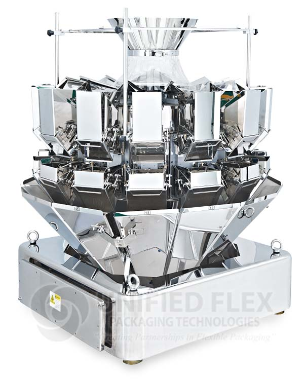 14-Head-Pegasus Combination Scale And Weigher For Vertical Form Fill Seal Packaging Machine