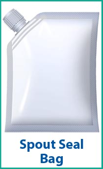 Spout Seal - a packaging option for a bagging machine.