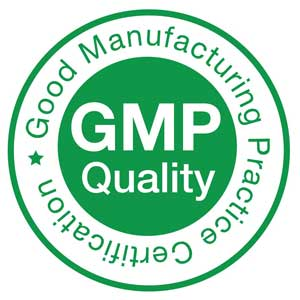 GMP practice certification logo