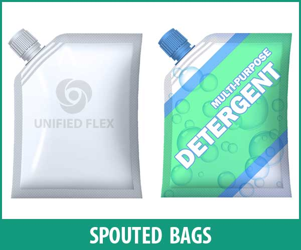 Spouted Seal Bag designed as a laundry food bag