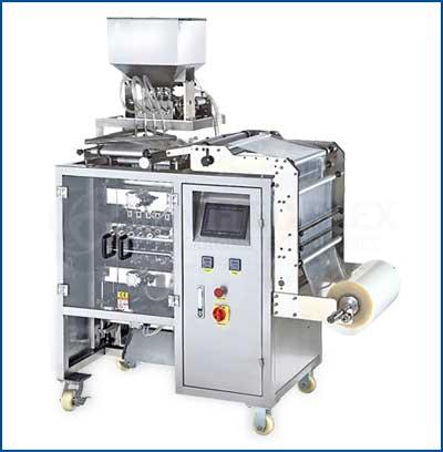 Multilane Sachet Bagger Vertical Form Fill Seal Packaging Machine