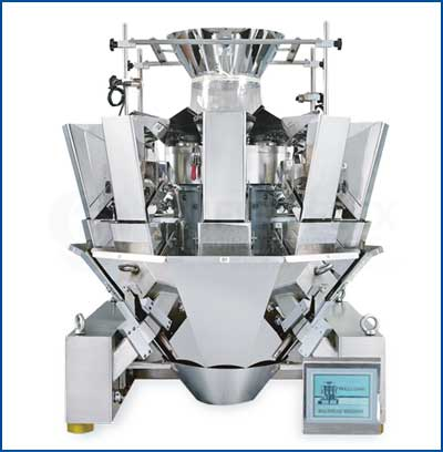 Orion-10-Head Combination Weigher For Vertical Form Fill Seal Packaging Machines