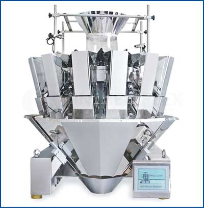 Orion-14-Head Combination Filler And Scale For Vertical Form Fill Seal Packaging Machines