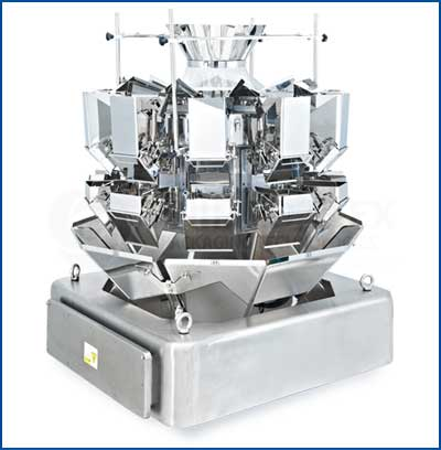 Pegasus-10-Head Combination Scale For Vertical Form Fill Seal Packaging Machines