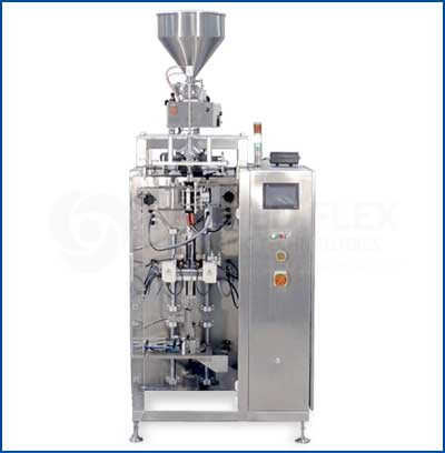 Sachet 4 Side Seal Vertical Form Fill Seal Packaging Machine