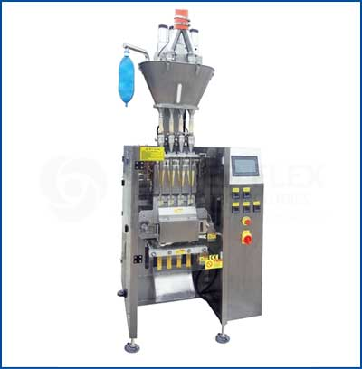 Stickpack With Auger Filler Vertical Form Fill Seal Packaging Machine